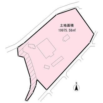 倉庫・工場用地の間取図
