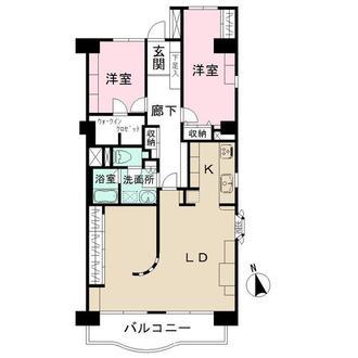 新松戸アゼリアパークハウスの間取図