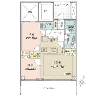 本郷パークハウス ザ・プレミアフォートの間取図