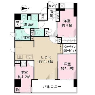 ニューイーストコート上野の間取図