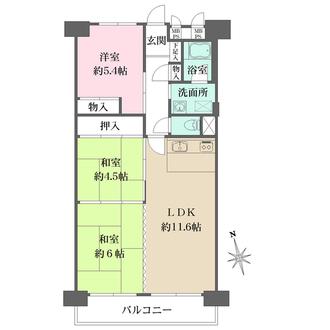 新松戸中央パークハウスの間取図