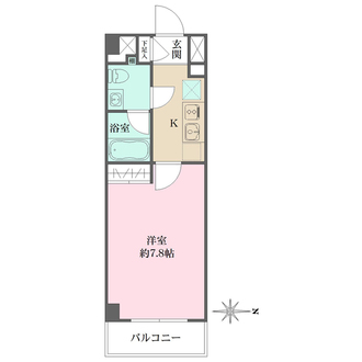 Rising place西新井の間取図
