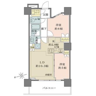 浅草タワーの間取図