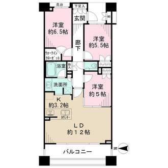 マジェスティハウス新宿御苑パークナードの間取図