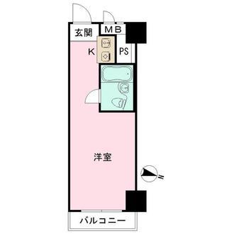 五反田ダイヤモンドマンションの間取図