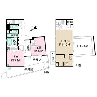 LAYERS HOUSE杉並善福寺川公園の間取図