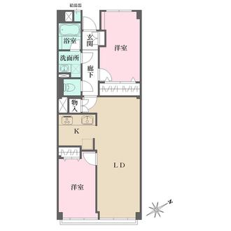 グリーンヒル新宿の間取図