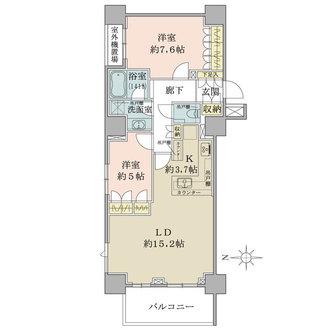 浦和パークハウスの間取図