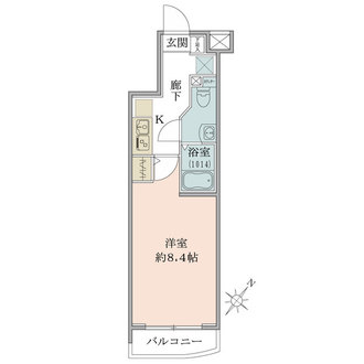 GENOVIA板橋skygardenの間取図