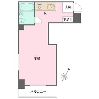 ストークパレス横浜の間取図