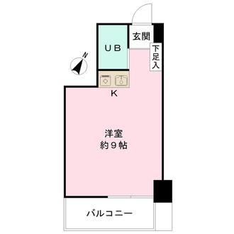 日本橋センチュリー21の間取図