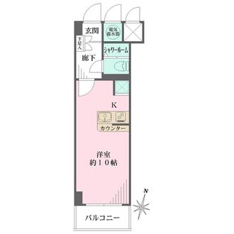 ライブリー渋谷桜丘の間取図
