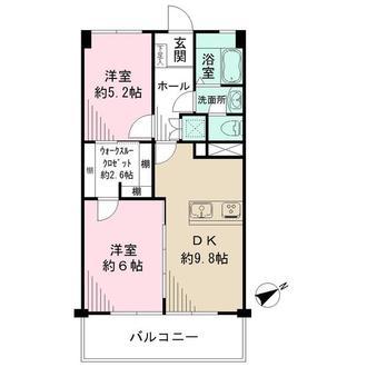 シーアイマンション武蔵野の間取図