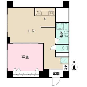 武蔵境マンションの間取図