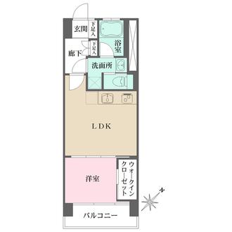 武蔵野サマリヤマンションの間取図