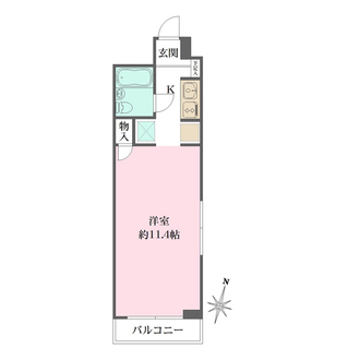 藤和西横浜ハイタウンの間取図