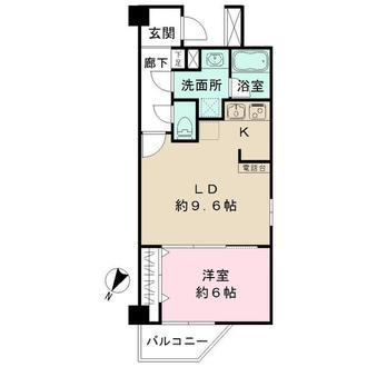 センチュリー横濱鶴見の間取図