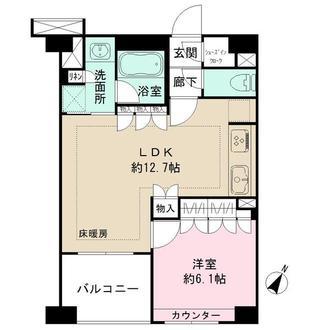 BELISTA横浜弐番館の間取図