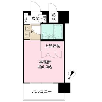パーク・ノヴァ横浜阪東橋の間取図