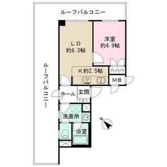 藤和シティコープ桜新町の間取図