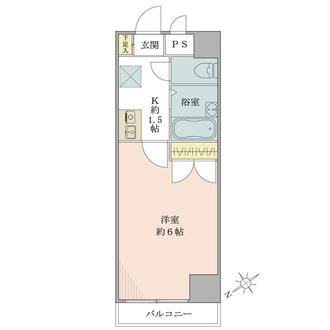 パレ・ドール九段下の間取図