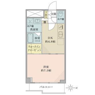 飯田橋ハイタウンの間取図