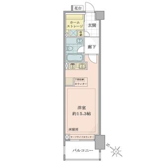 パークハウス江ノ島の間取図