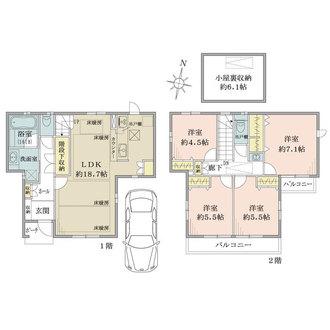 ザ・パークハウスステージ戸塚の間取図