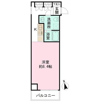 ラミアール赤坂の間取図