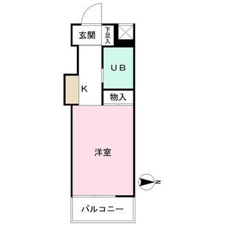 マリオン高円寺の間取図