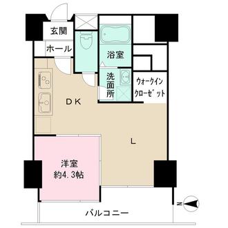 中野スカイマンションの間取図