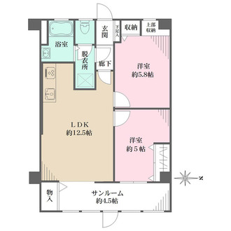 西京城西ビルの間取図