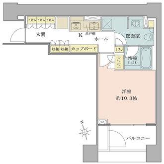 麻布台パークハウスの間取図