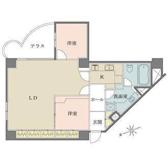三田ハウスの間取図