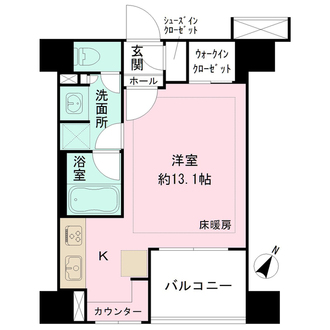 BELISTA横浜の間取図