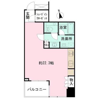 ナビューレ横浜タワーレジデンスの間取図