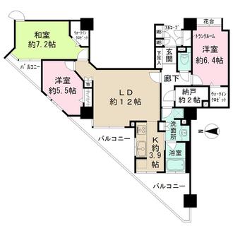 びゅうサイトタワーの間取図