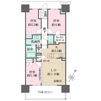SHINTO CITYの間取図