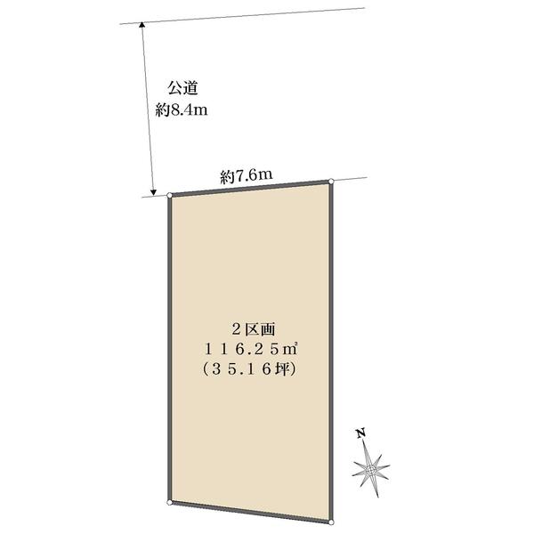 2.区画の間取図
