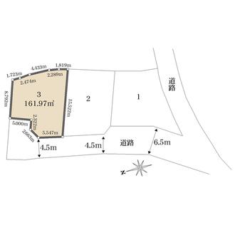 3号地の間取図