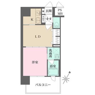エンクレストNEO博多駅南の間取図
