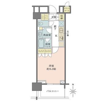 文京ガーデンザサウスの間取図