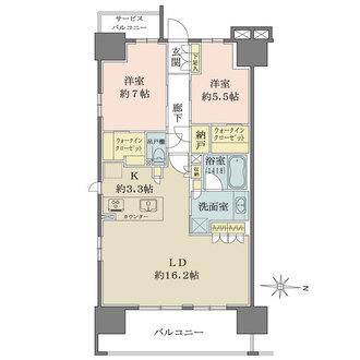 レーベン名古屋松重町GRAND AUBEの間取図