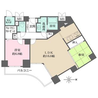 ベルパークシティ画地IIの間取図