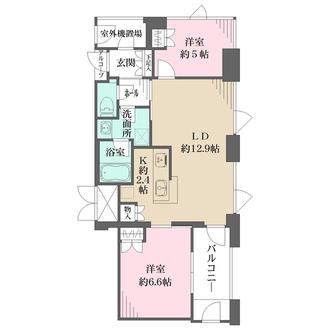 アーバンライフ御堂筋本町タワーの間取図