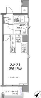 麹町二番町マンションの間取図