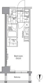 パークハビオ東陽町の間取図
