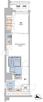 ボヌールステージ笹塚の間取図