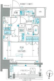 ザ・パークハウスアーバンス白金の間取図