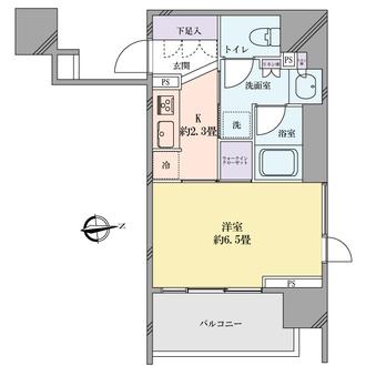 アトラス東高円寺の間取図